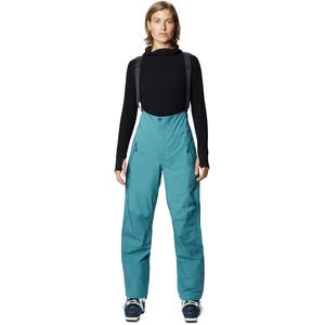 Mountain Hardwear High Exposure Gore-Tex C-Knit Bibs Women washed turq washed turq