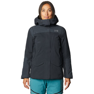 Mountain Hardwear Boundary Line Gore-Tex Insulated Jacket Women dark storm dark storm