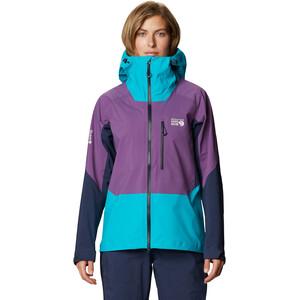 Mountain Hardwear Exposure/2 Gore-Tex Pro Lite Jacket Women violett/turkos violett/turkos
