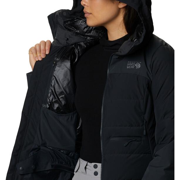 Mountain Hardwear Direct North Gore-Tex Infinium Down Jacket Women dark storm