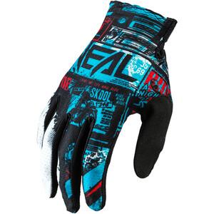 O'Neal Matrix Rękawiczki Villain, czarny/niebieski czarny/niebieski