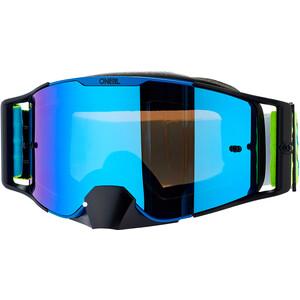 O'Neal B-30 Goggles, amarillo/azul amarillo/azul