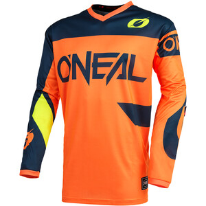 O'Neal Element Maillot de cyclisme Homme, orange/bleu orange/bleu