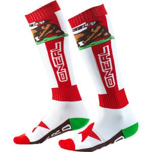 O'Neal Pro MX Socken rot/weiß rot/weiß