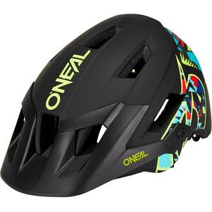 O'Neal Defender 2.0 Hjälm svart/flerfärgad svart/flerfärgad