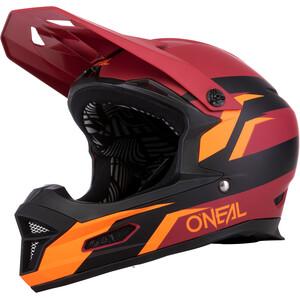 O'Neal Fury RL Hjälm röd/orange röd/orange
