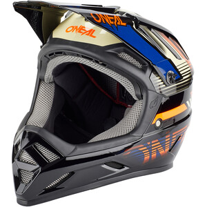 O'Neal Backflip Helm orange/blau orange/blau
