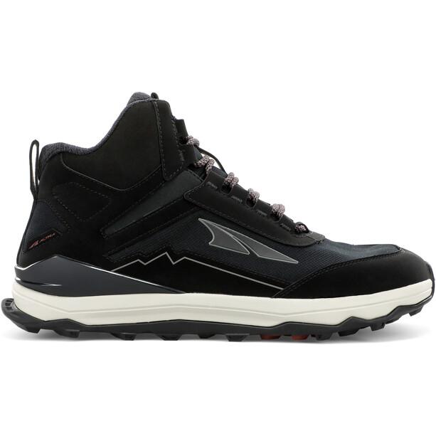 Altra Lone Peak Shoes Men, musta