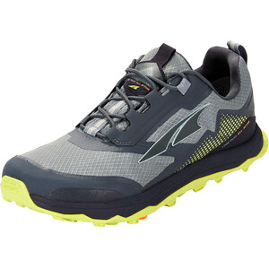 Altra Lone Peak All Weather Low Shoes Men, gray/lime gray/lime