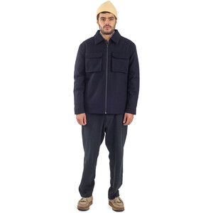 Welter Shelter Techwool Shirt Jacket Men, navy navy