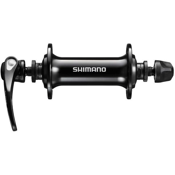 Shimano Road HB-RS400 Vorderradnabe für Felgenbremse Schnellspanner 100mm black