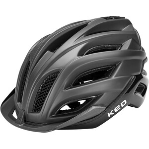 KED Champion Visor Helm schwarz schwarz