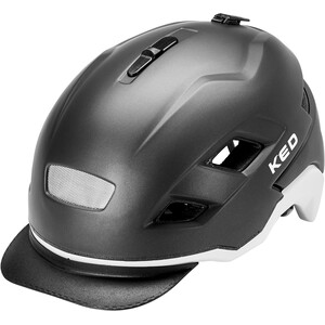 KED Berlin Helm schwarz/grau schwarz/grau
