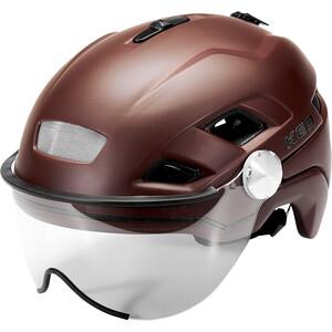 KED B-Vis X-Lite Helmet, rood rood