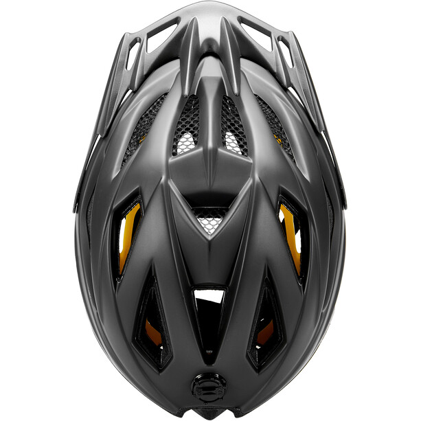 KED Street MIPS Helmet Kids, process black matt