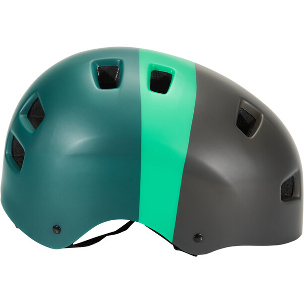 KED 5Forty Helm Kinder black green matt