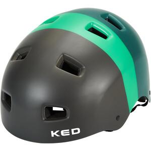 KED 5Forty Pyöräilykypärän Lapset, musta/vihreä musta/vihreä