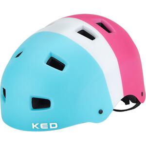 KED 5Forty Pyöräilykypärän Lapset, turkoosi/vaaleanpunainen turkoosi/vaaleanpunainen