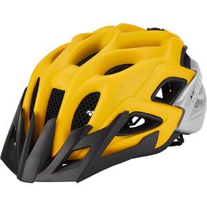 KED Status Helm Kinder yellow black matt yellow black matt