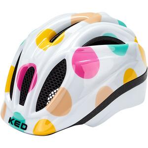 KED Meggy II Trend Helm Kinder dots colorful dots colorful