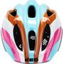 KED Meggy II Trend Helm Kinder rainbow retro blue