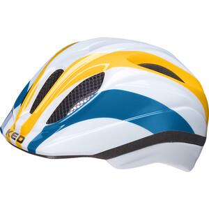 KED Meggy II Trend Helm Kinder rainbow retro yellow rainbow retro yellow