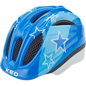 KED Meggy II Helm Kinder blue stars blue stars