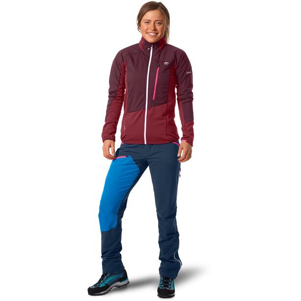 Ortovox Westalpen Hybrid Jacket Women rød