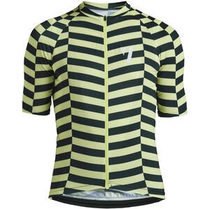 VOID Print 2.0 Jersey Korte Mouwen Heren, zwart/geel zwart/geel