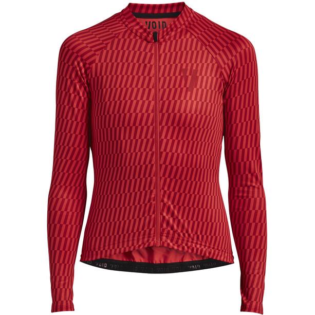 VOID Ride LS Jersey Women red