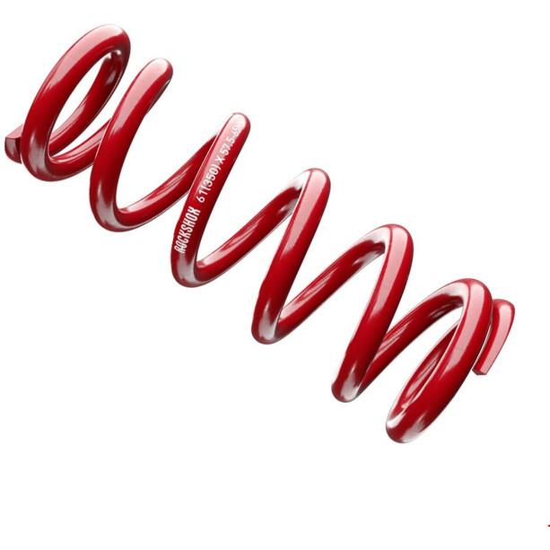 RockShox Metrische Stahlfeder 151mm 57,5-65mm red
