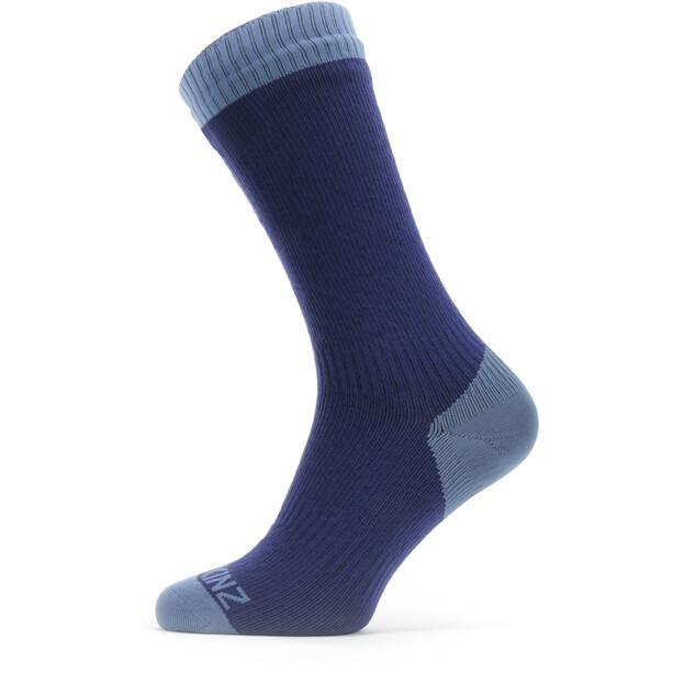 Sealskinz Waterproof Warm Weather Mittelhohe Socken blau