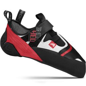 Mad Rock Redline Strap Climbing Shoes, negro/rojo negro/rojo