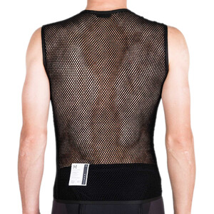 Isadore Merino Light Ärmelloser Baselayer Herren black black