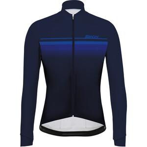 Santini Mare Design Langarm Trikot Herren nautica blue nautica blue