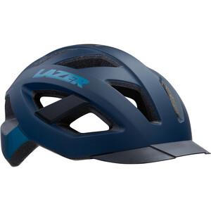Lazer Cameleon Helm mit Insektenschutznetz blau/schwarz blau/schwarz