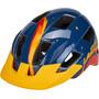 Lazer Lil Gekko Helm mit Insektenschutznetz Kinder blau/gelb