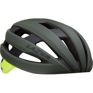 Lazer Sphere MIPS Helm dark green flash yellow dark green flash yellow