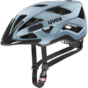 UVEX Active CC Fietshelm, blauw/zwart blauw/zwart
