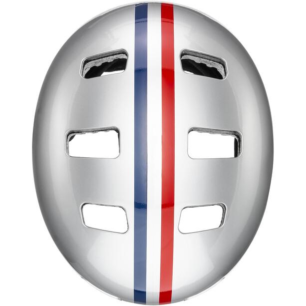 UVEX Kid 3 Helmet Barn race silver