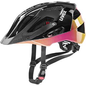 UVEX Quatro Helmet, noir noir