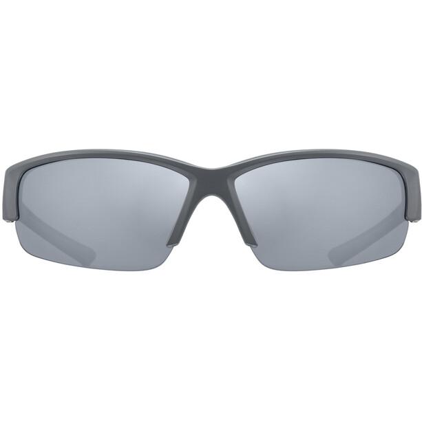UVEX Sportstyle 215 Brille grey matt/litemirror silver