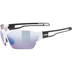 UVEX Sportstyle 803 Colorvision Brille weiß/schwarz weiß/schwarz