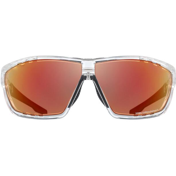 UVEX Sportstyle 706 Colorvision Glasses, transparent/noir