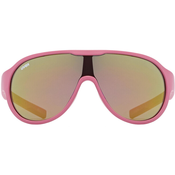 UVEX Sportstyle 512 Glasses Kids, pink matt/mirror red