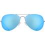 UVEX LGL 45 Glasses, argent/bleu