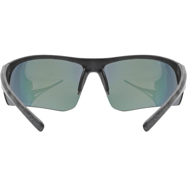 UVEX Sportstyle Ocean Polavision Brille schwarz/rot