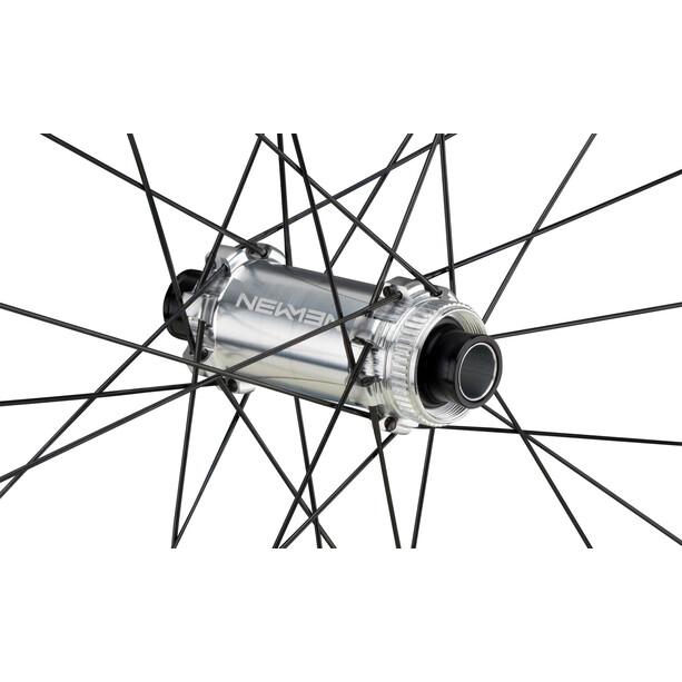 "NEWMEN Advanced SL A.30 Vorderrad 29"" 15x110mm Straight Pull CL Fade schwarz/silber"