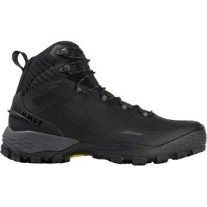 Mammut Ducan Pro High GTX Shoes Men black-titanium black-titanium