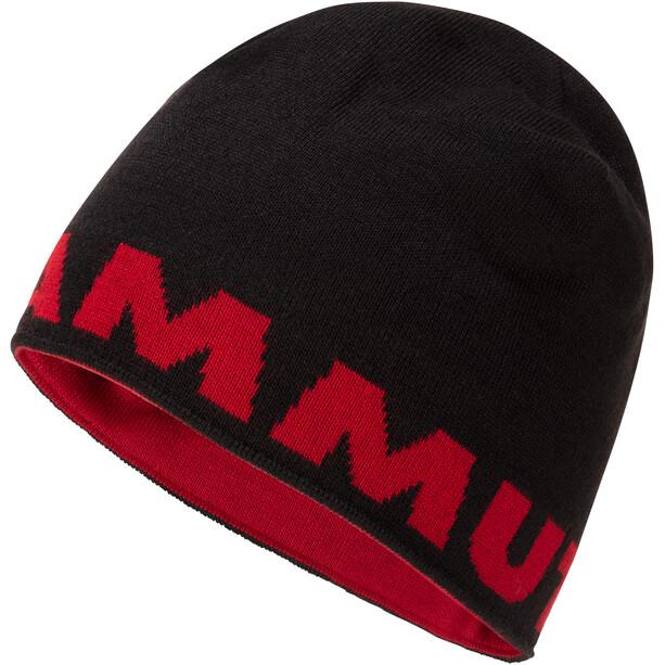 Mammut Logo Beanie svart/röd